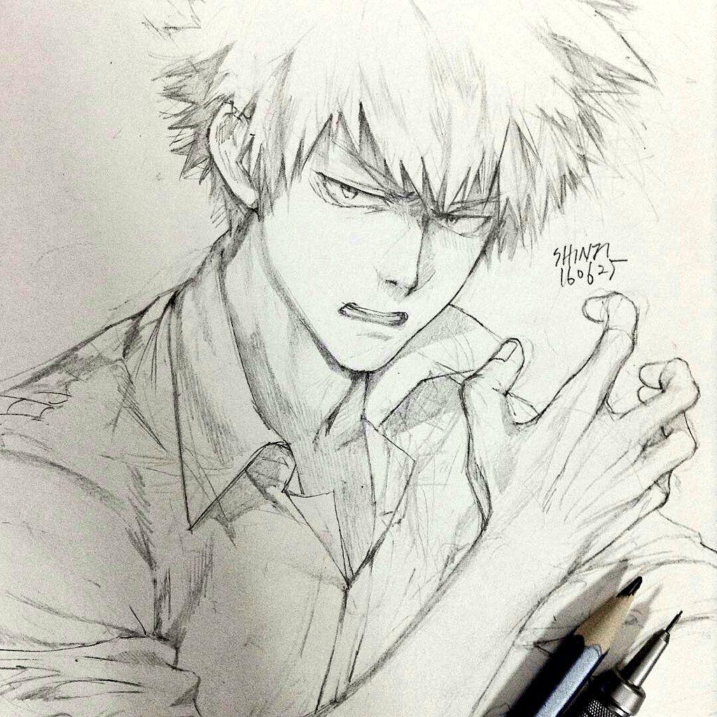 Boku no Hero Academia || Katsuki Bakugou (Dibujo/Drawing)