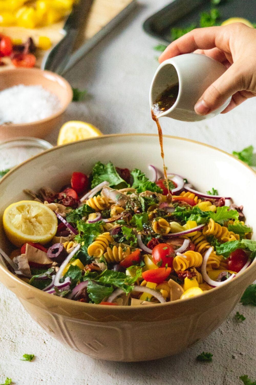 Mediterranean Pasta Salad Kits Eats Healthy Gluten