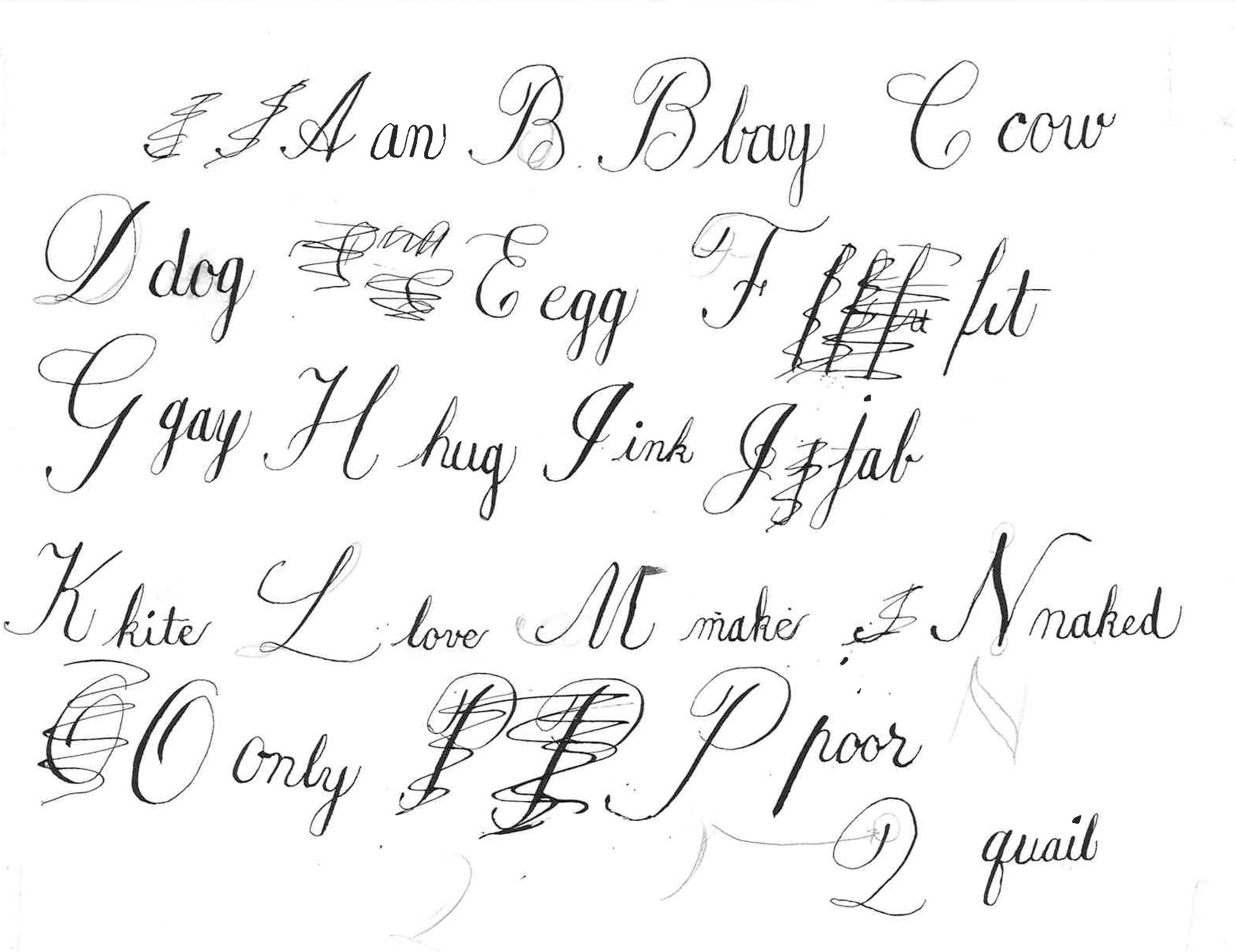 calligraphy for beginners