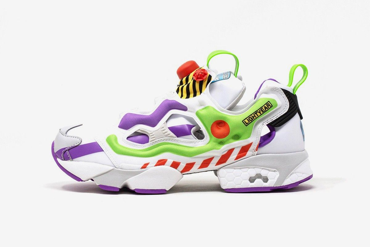 New Toy Story X Reebok Pump Sneakers Are Very, Very 1995
