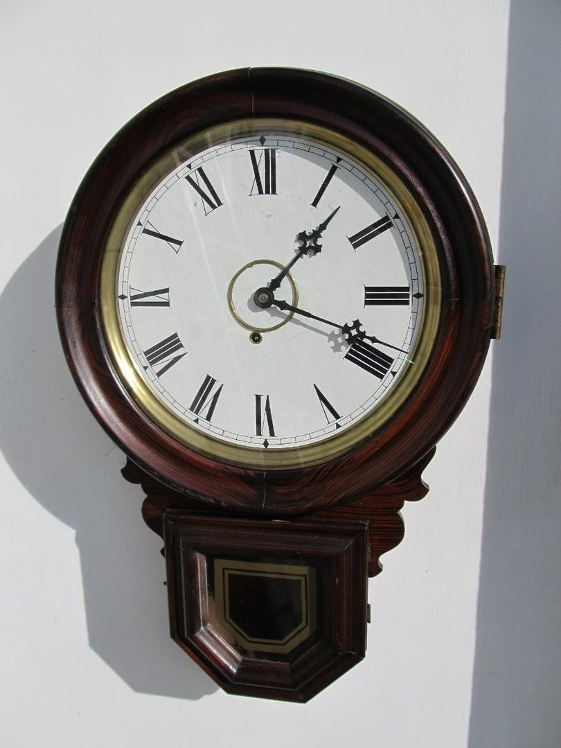 You are bidding on an antique e ingraham wall clock it still has you are bidding on an antique e ingraham wall clock it still has the amipublicfo Gallery