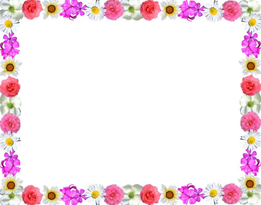Different Colorful Floral Page Border Design HD sadiakomal ...