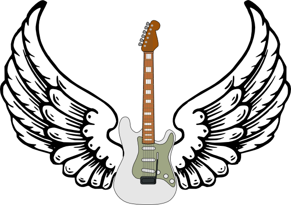 Stratocaster Guitar Clipart