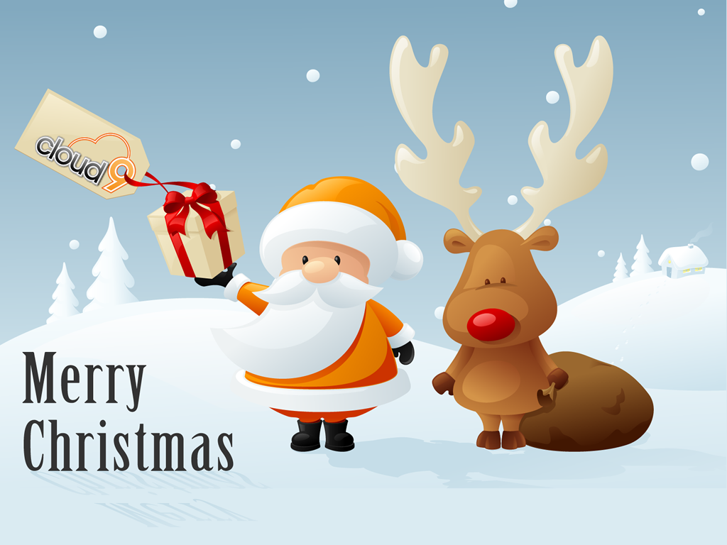 Animated Christmas Wallpaper 2