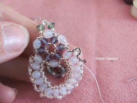 Hi there  Well fooled around with beads yesterday, it's funny actually, when I have played around I always come back to the same technique I...