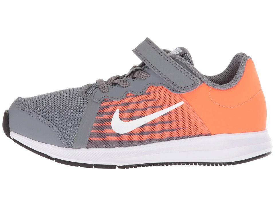Nike Kids Downshifter 8 (Little Kid) Boys Shoes Cool Grey