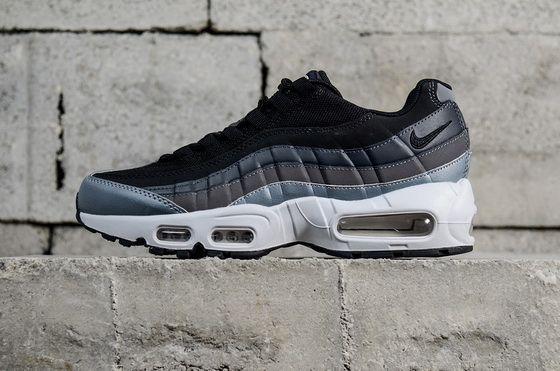 Nike Air Max 95 Essential Black White 749766021 Popular Sneaker ... a61dbf8d6b