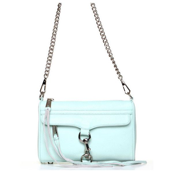 Rebecca Minkoff Mini Mac Clutch ($295) ❤ liked on Polyvore