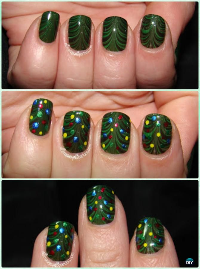 Diy christmas nail art ideas designs christmas nail art diy christmas nail art ideas designs prinsesfo Images