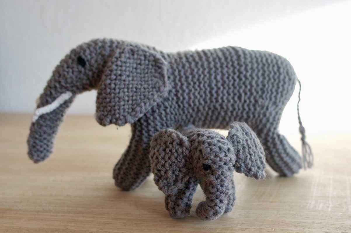 Anleitung zum Elefanten stricken. | SPIELLANDSCHAFT | Pinterest ...