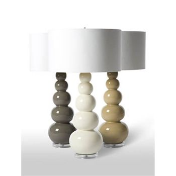 Clay Gourds Table Lamp   $618