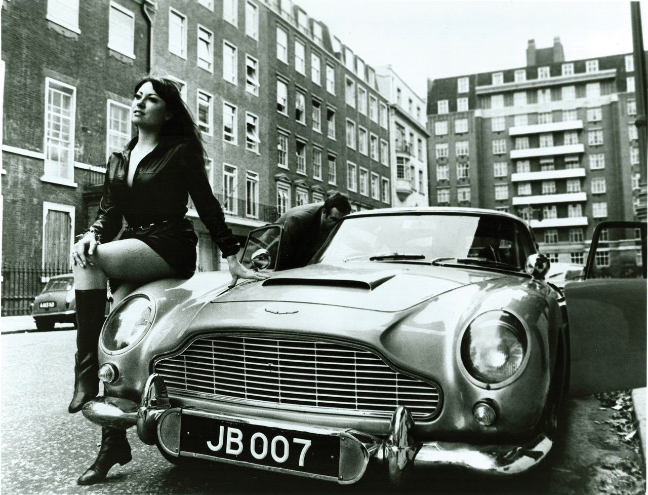 1964 Aston Martin DB5: Car that was used in Goldfinger. If its good enough for Bond it's definitely good enough for me:)