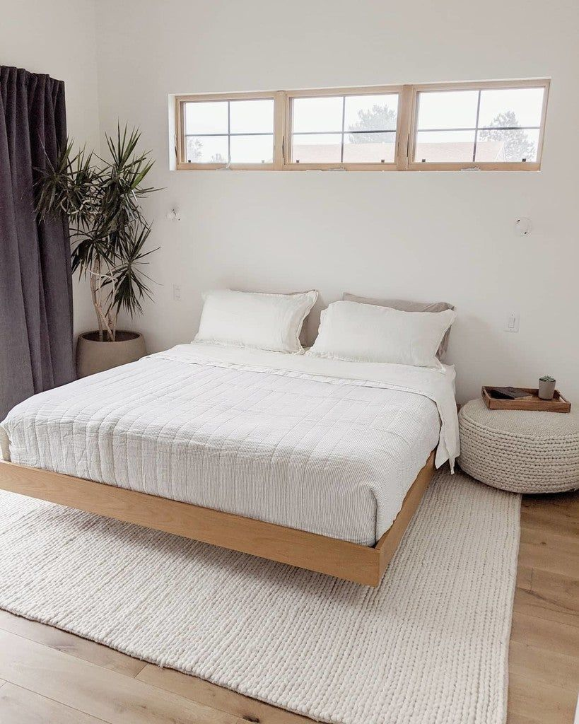Basi Oak King Bed Frame Queen Bed Frame Bed Frame Zen Bedroom