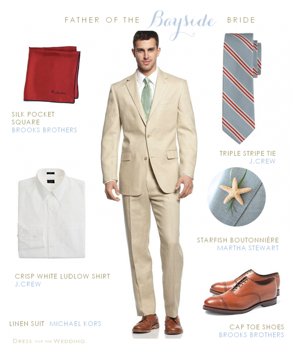 Father of the bride style for a beach wedding ( great for grooms and ...