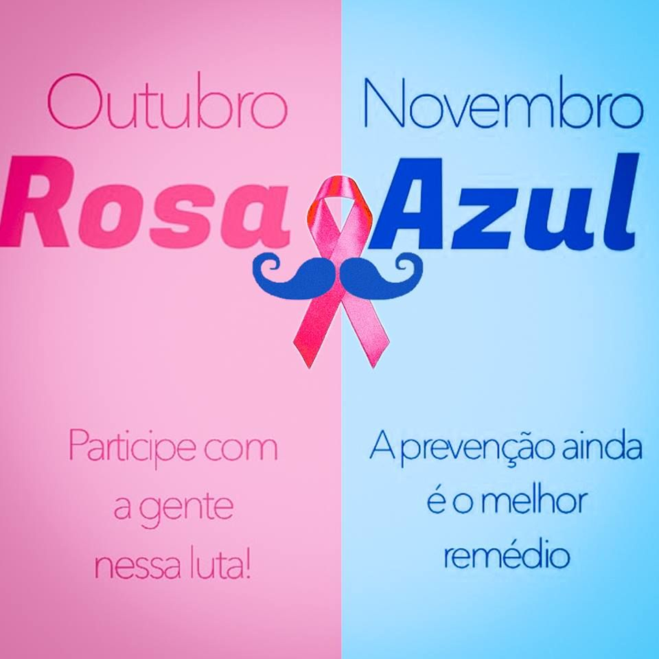Campanha Outubro Rosa& Novembro Azul Apolar Champagnat Pinterest Campanha outubro rosa  -> Decoração Para Outubro Rosa E Novembro Azul
