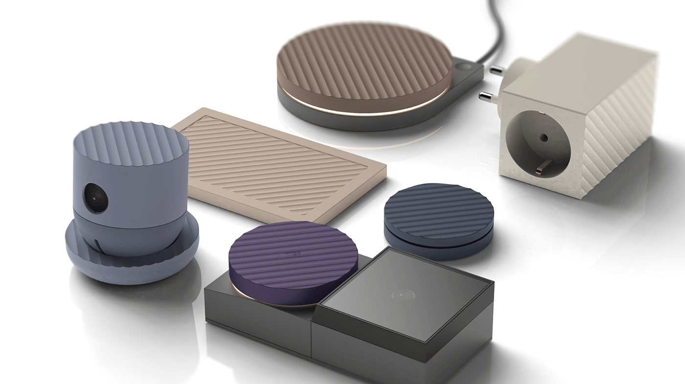 Product Identity Of Home Iot Products On Behance 2020