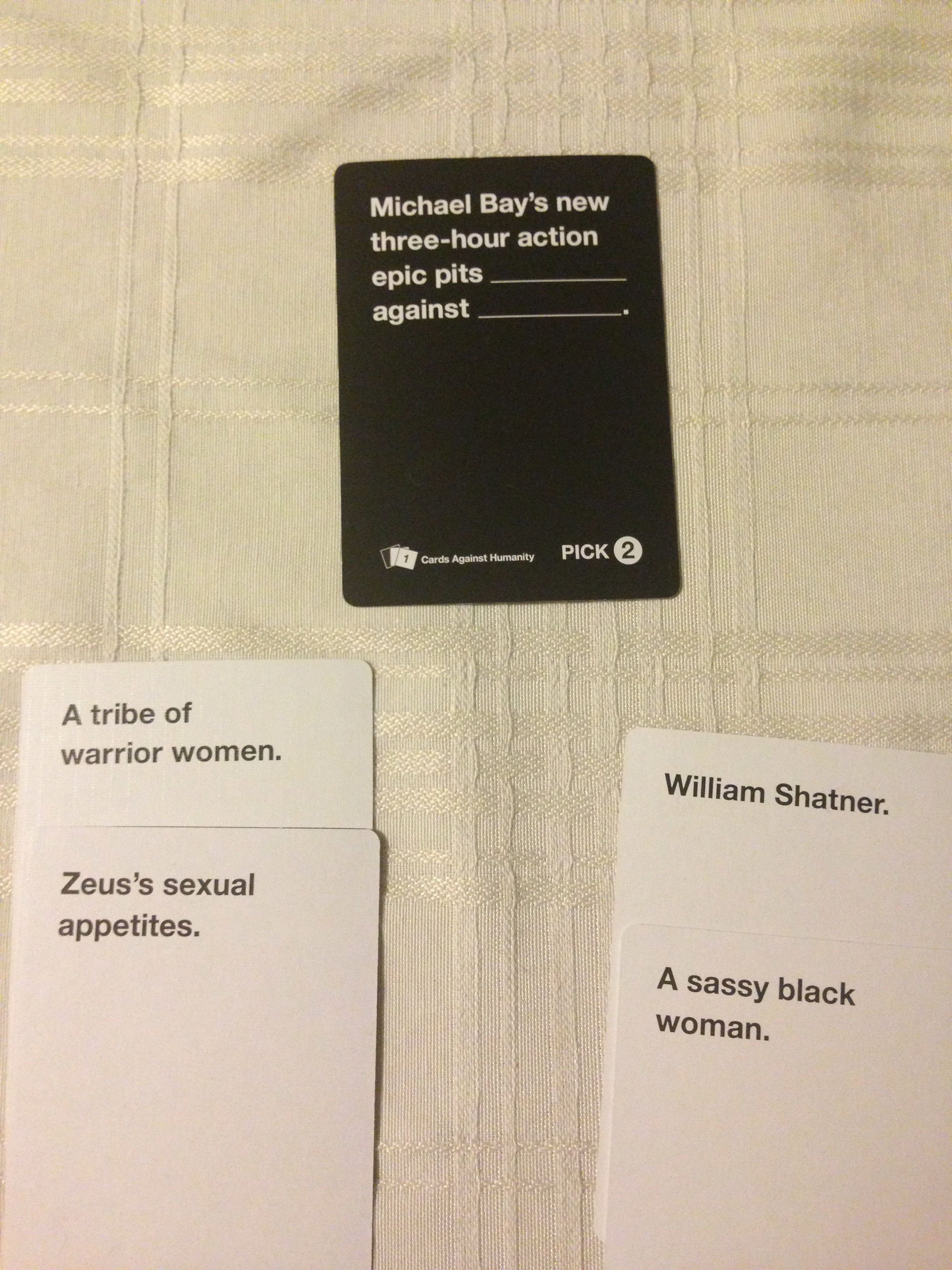 Cards against humanity funniest cards against humanity