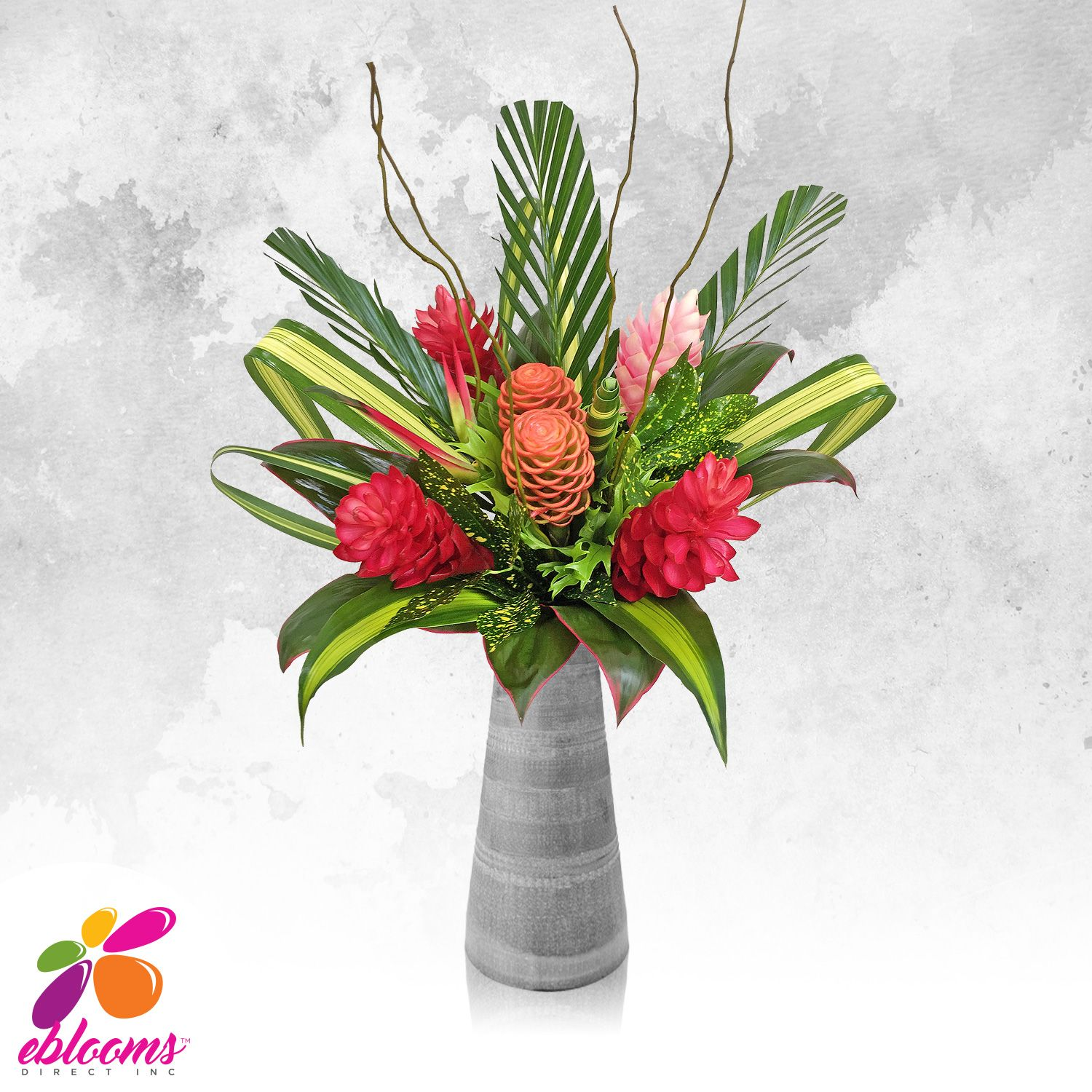 Adventure tropical bouquet pack 1 flower weddings and wedding tropical flowers eblooms direct izmirmasajfo Images