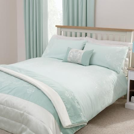 duck egg nina collection duvet cover dunelm mill. Black Bedroom Furniture Sets. Home Design Ideas