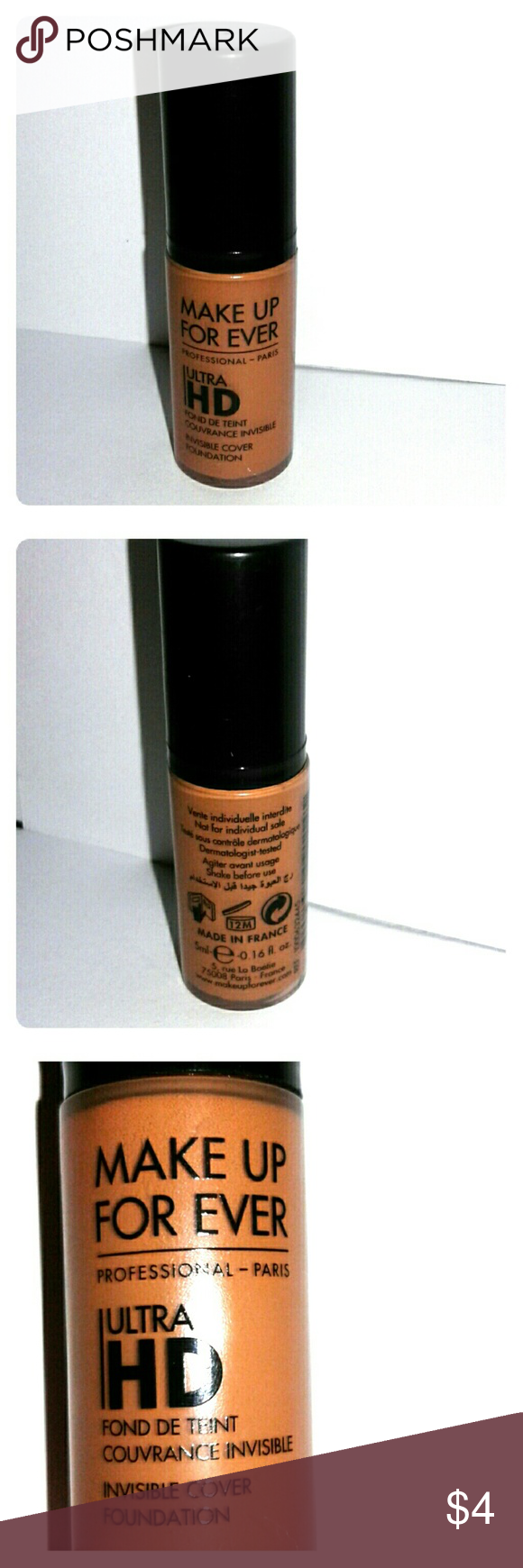 NWOT Makeup Forever Ultra HD Foundation Makeup forever