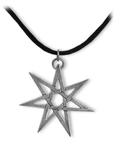 Heptagram sterling silver pendant necklace eastgate 4400 heptagram sterling silver pendant necklace eastgate 4400 lifetime warranty satisfaction guaranteed comes aloadofball Choice Image
