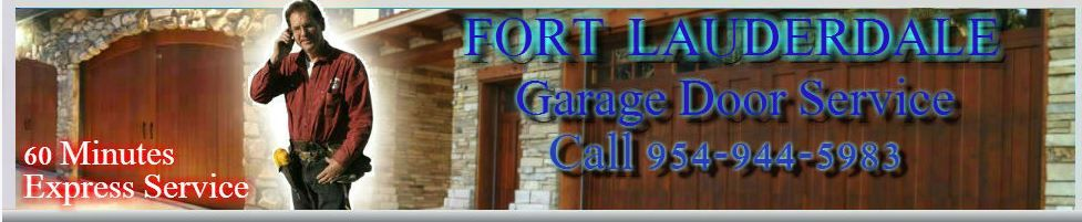 Welcome to Garage Door repair Fort Lauderdale. At this web page you can find valuable information and pricing that can help you with your garage door problem, repair or service you need.
