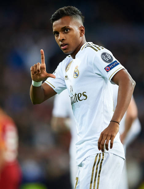 Rodrygo Goes Pictures And Photos Getty Images Real Madrid Players Real Madrid Manchester United Real Madrid Video