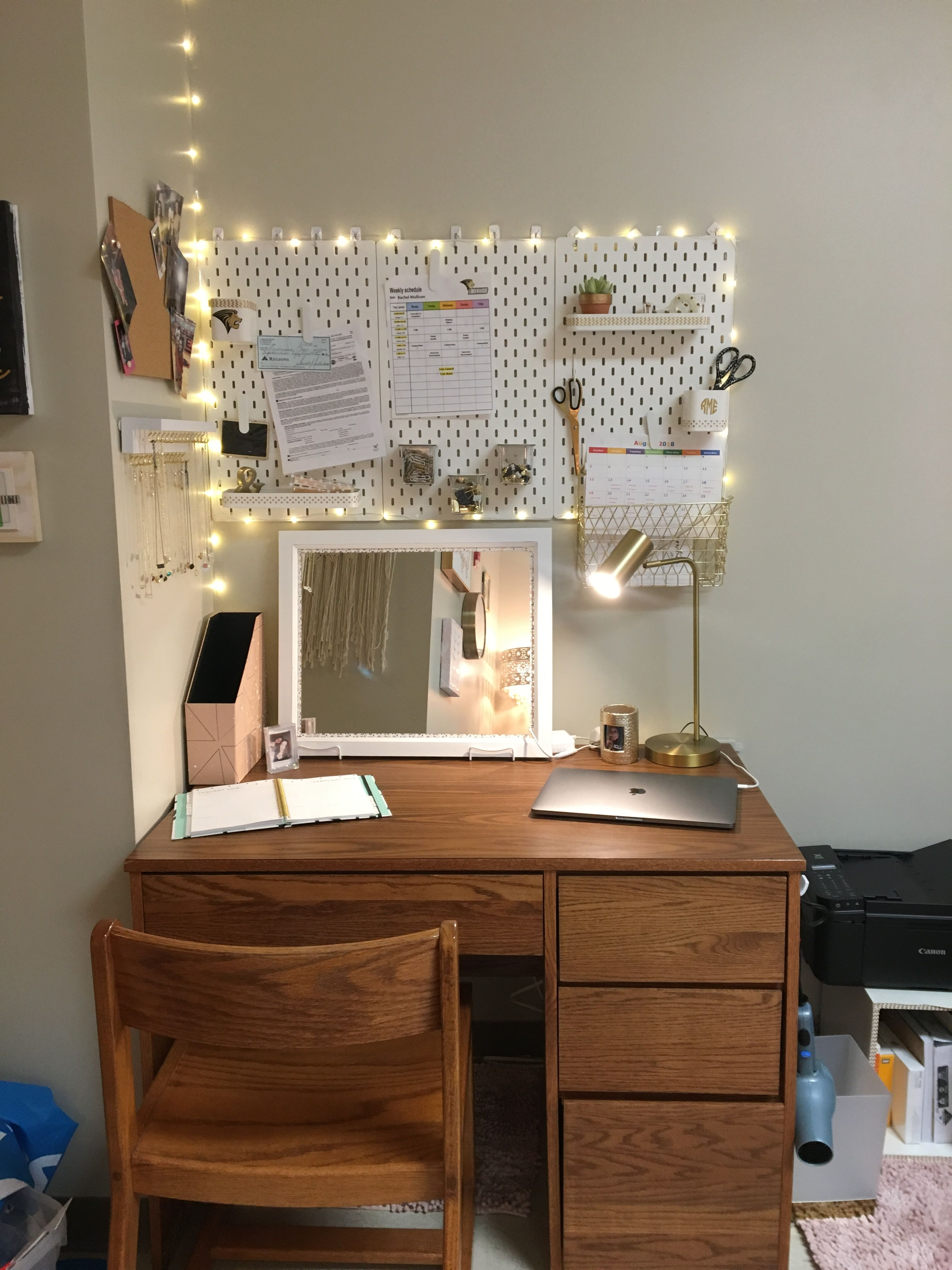 College Desk Area Chic Dorm College Dorm Desk Areas