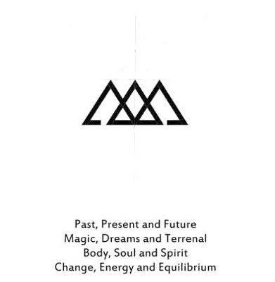 Photo of simple tattoos with meaning symbols design
