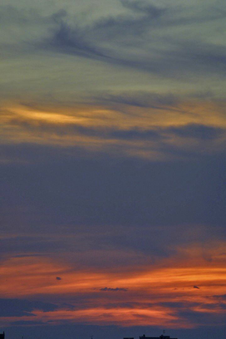 Atardecer Bahia De San Antonio Abad Ibiza Islas Baleares Spain By Valentin Enrique Celestial Clouds Sunset