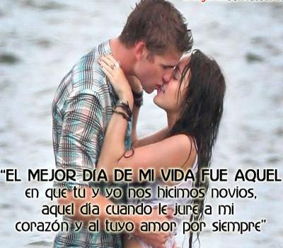 Imagenes Frases De Amor Para Mi Novio Hermosas 400x350 Amor