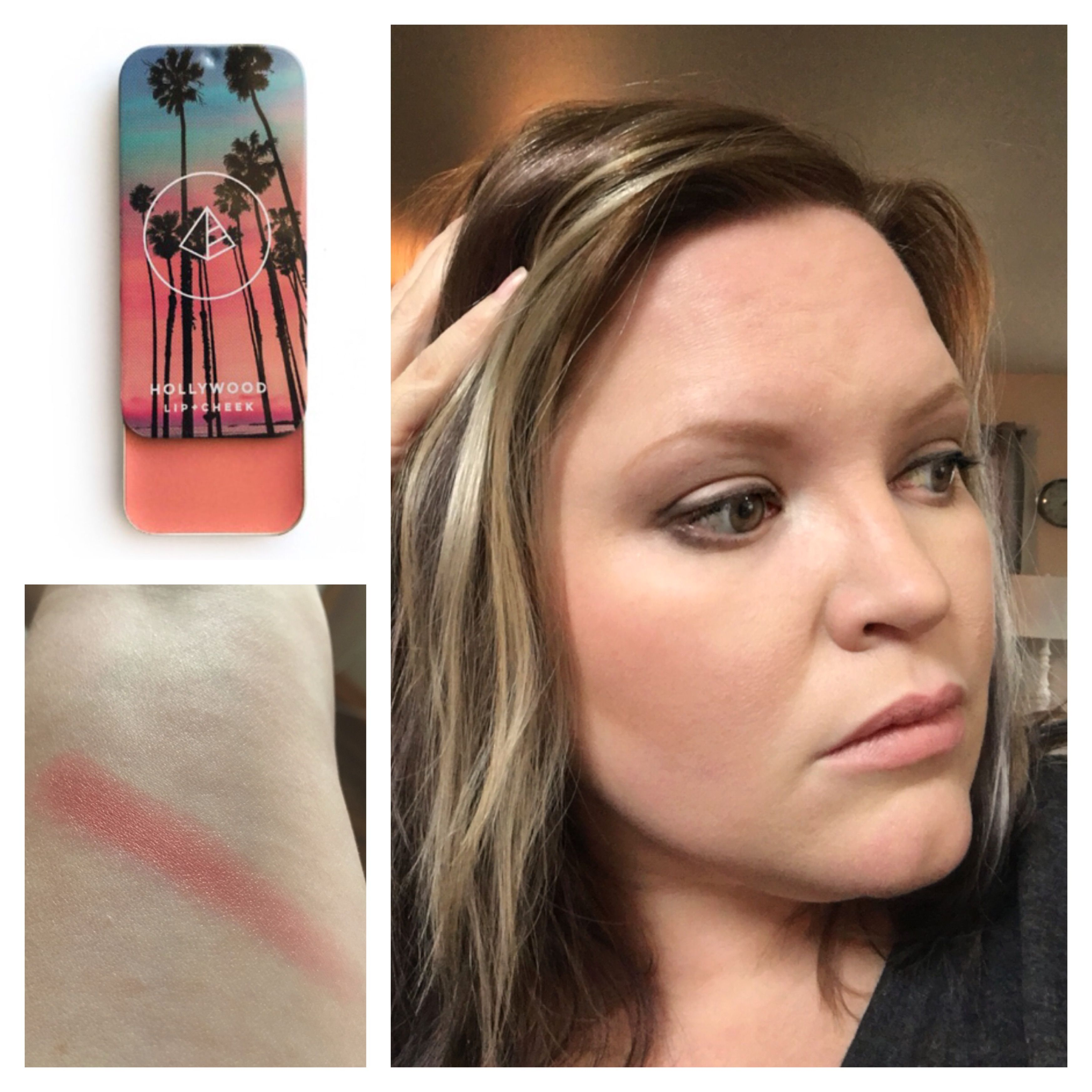 Blush crush! I love this Hollywood lip and cheek from