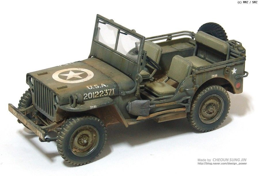 MMZ - Willys MB Jeep