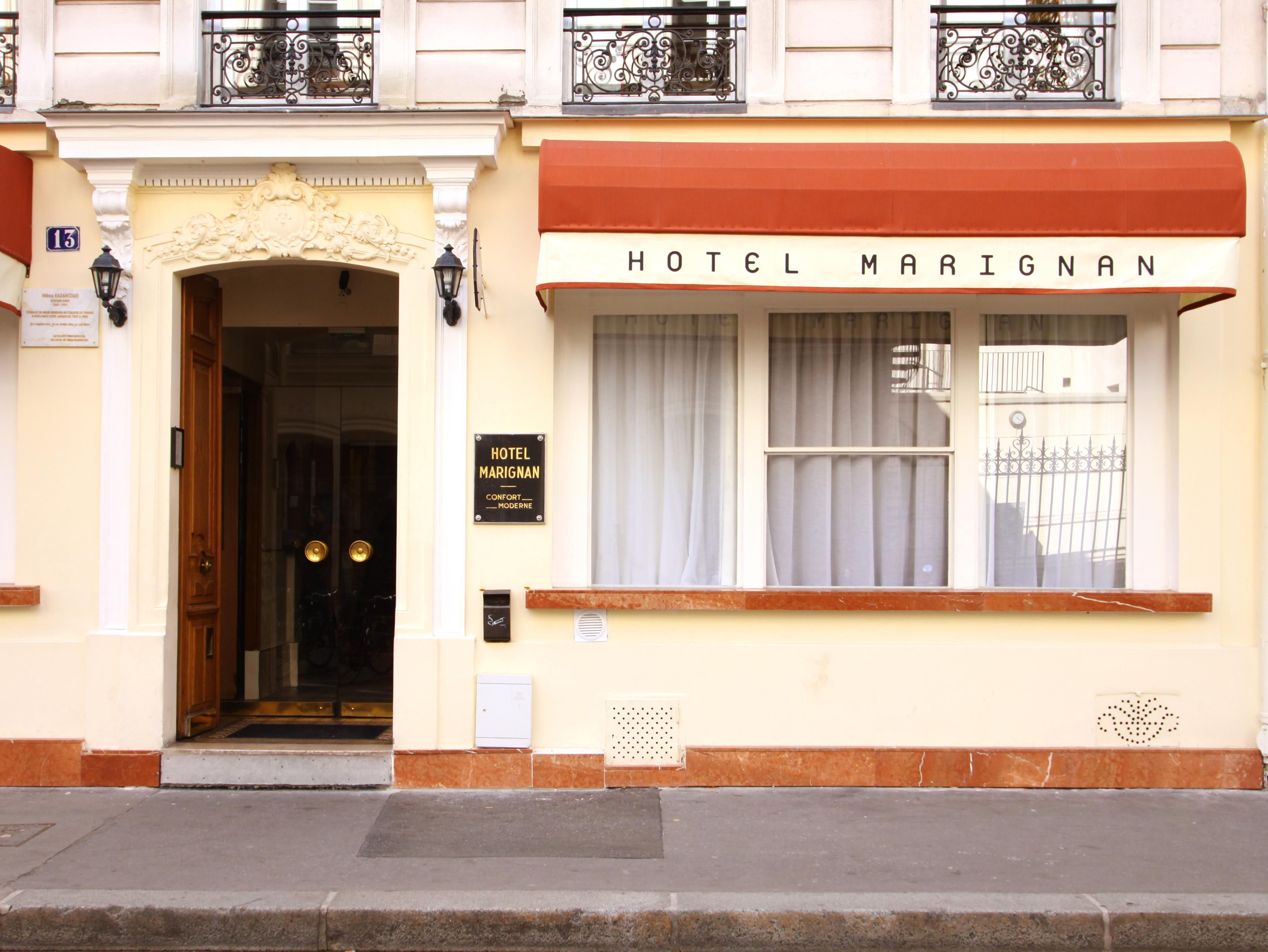 Paris Hotel Marignan France Europe Set In A Prime Location Of