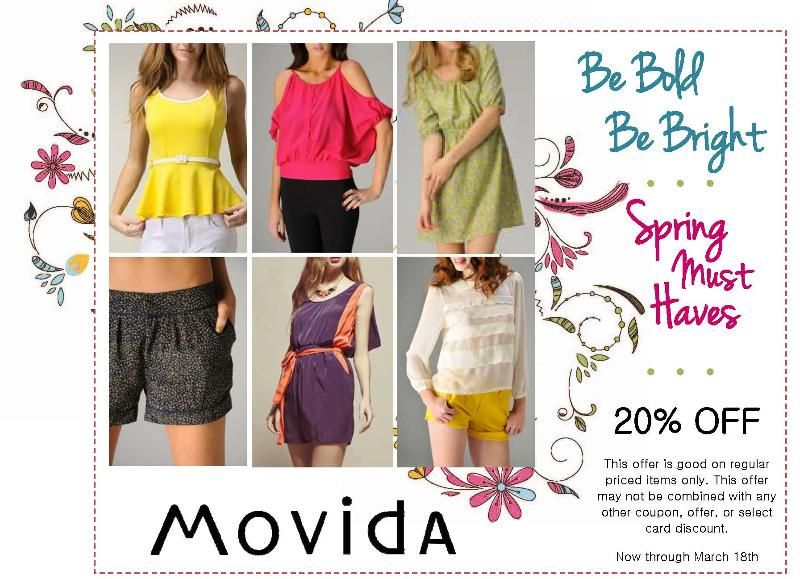 Check out this Movida Coupon now until March 18!