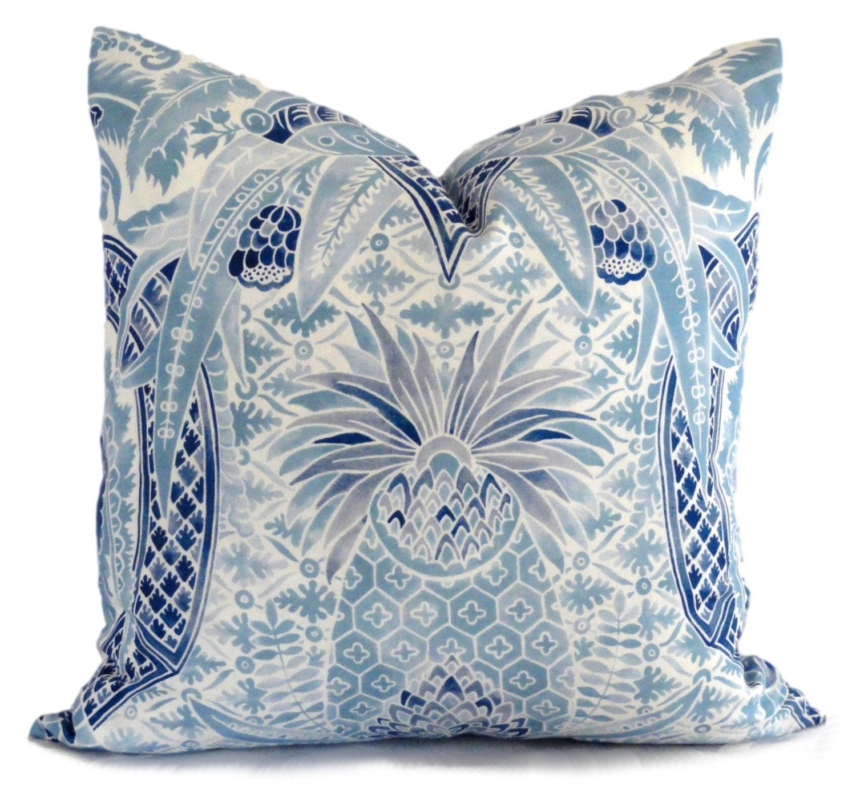 Schumacher timothy corrigan cap ferrat pillow cover by popocolor