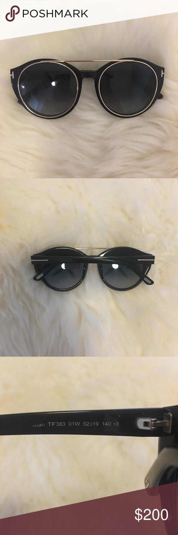 3b2f75e2a3d Tom Ford Joan Sunglasses Authentic. In great condition. Very minimal wear  on lenses