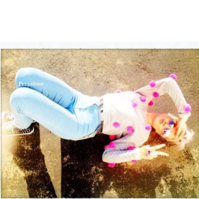 Perrie Edwards old Facebook photo