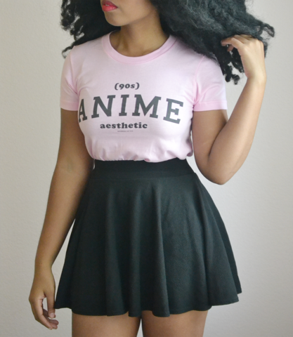 Adorned By Chi 90s Anime Aesthetic Athletic Inspired Short Sleeve Women S T Shirt More Colors Black Girl Fashion Kawaii Fashion Girl Fashion