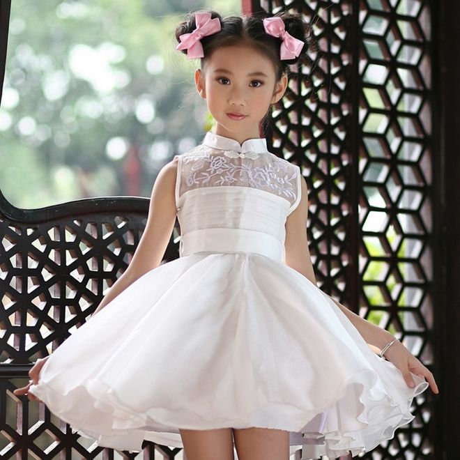 Dress Quality S Tutu Directly From China Suppliers New Arrival Children Summer White Wedding Kids