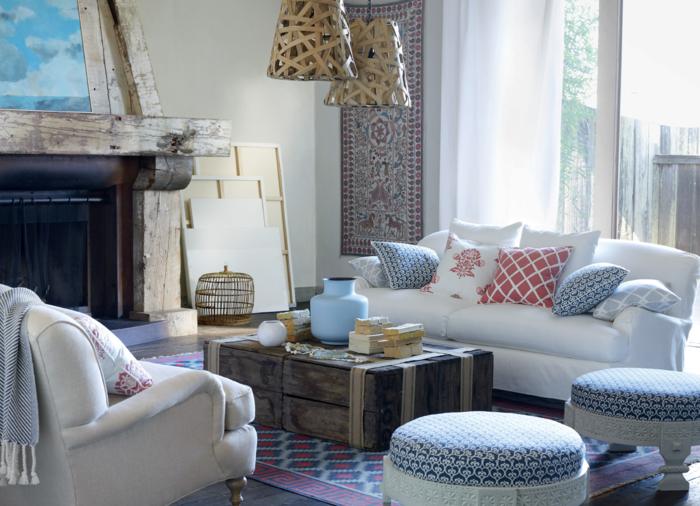 Coole wohnzimmer ~ Möbel landhausstil wohnzimmer einrichten cooler couchtisch