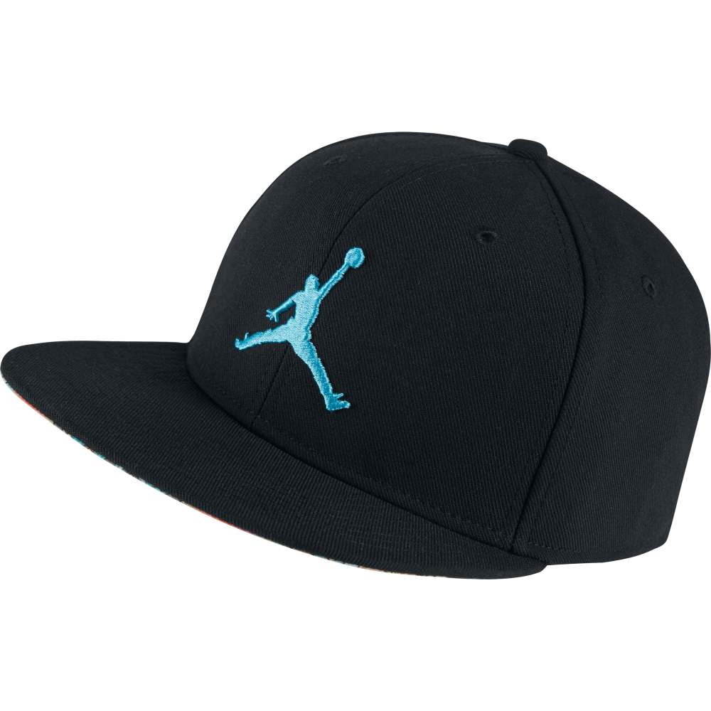 casquette jordan stretch noir