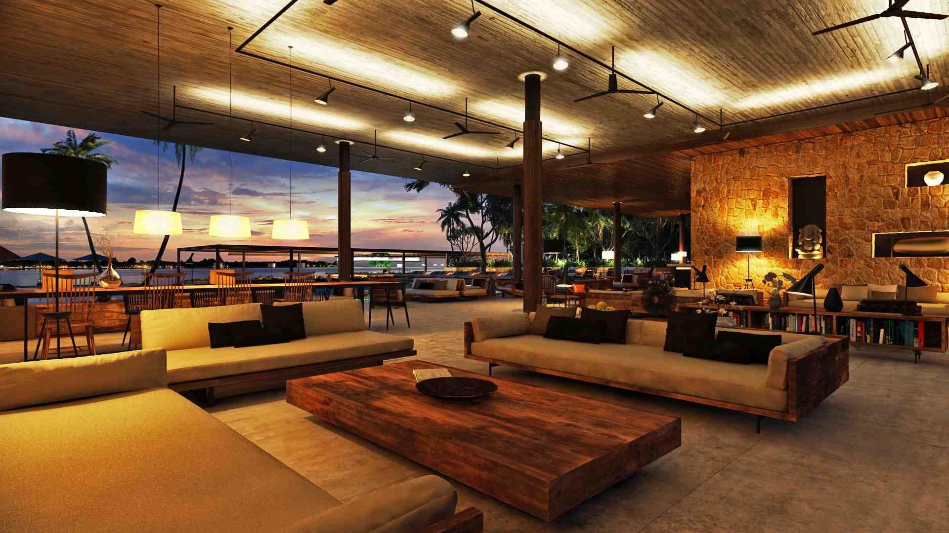 bali club house - Buscar con Google | lounge living room | Pinterest ...