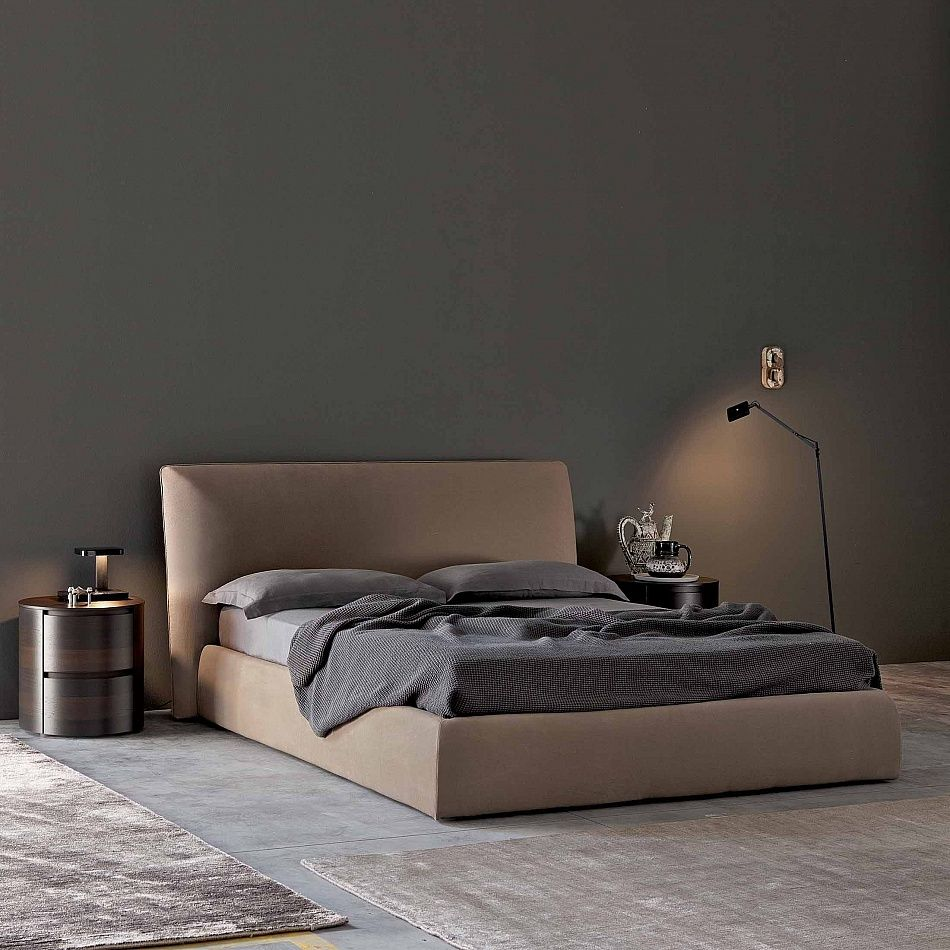 Best Bed With Storage Box Easy By Santarossa Contemporary 400 x 300