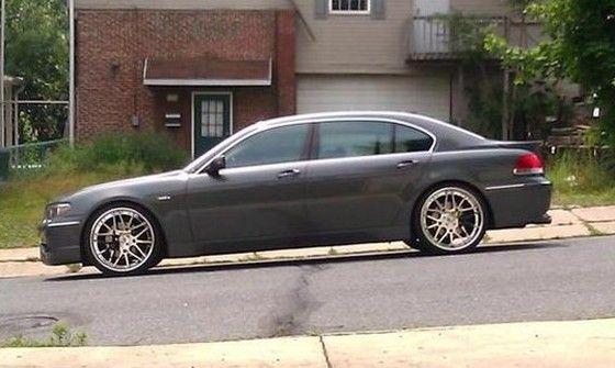 2004 BMW 745Li AC Schnitzer 7 22 inch 3 piece