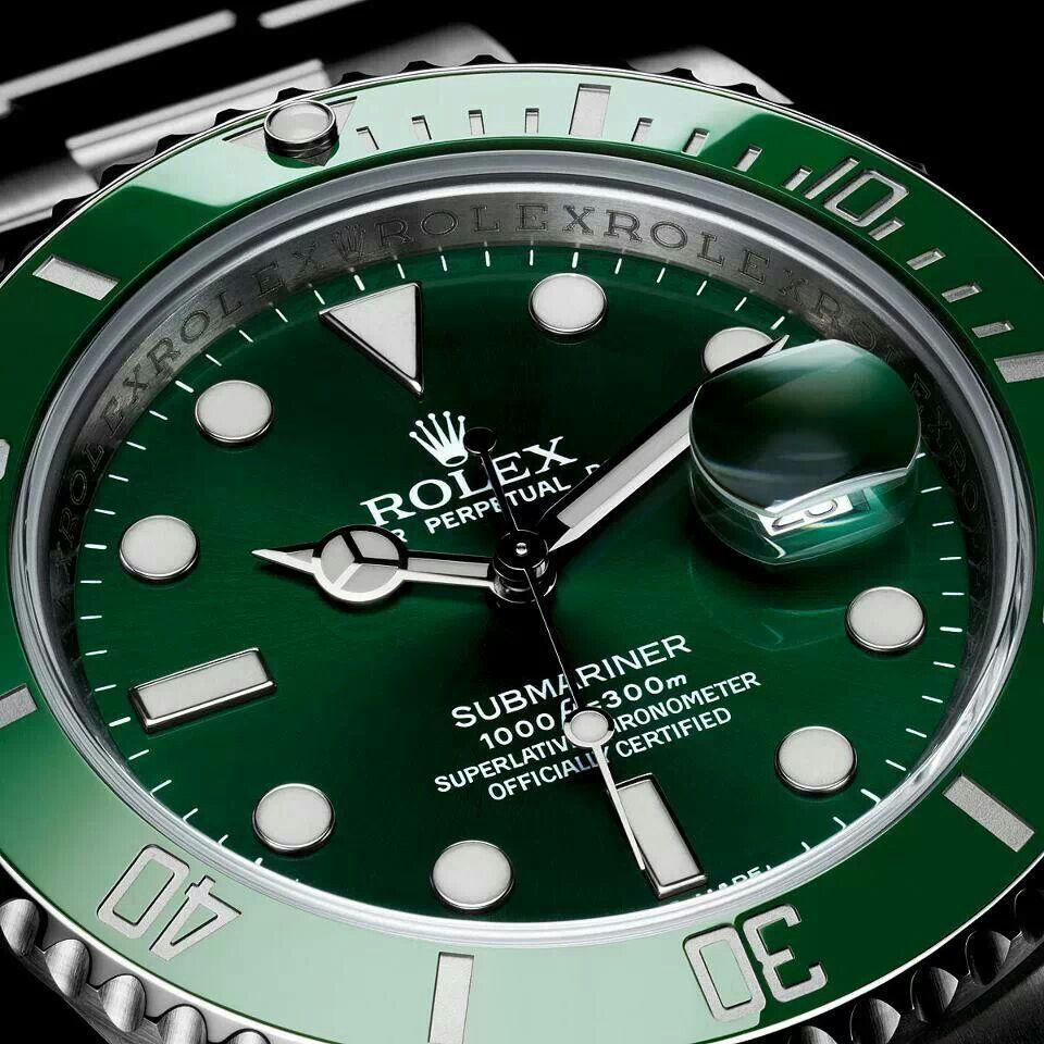 Gorgeous Rolex Watches Rolex Submariner Rolex Submariner Green