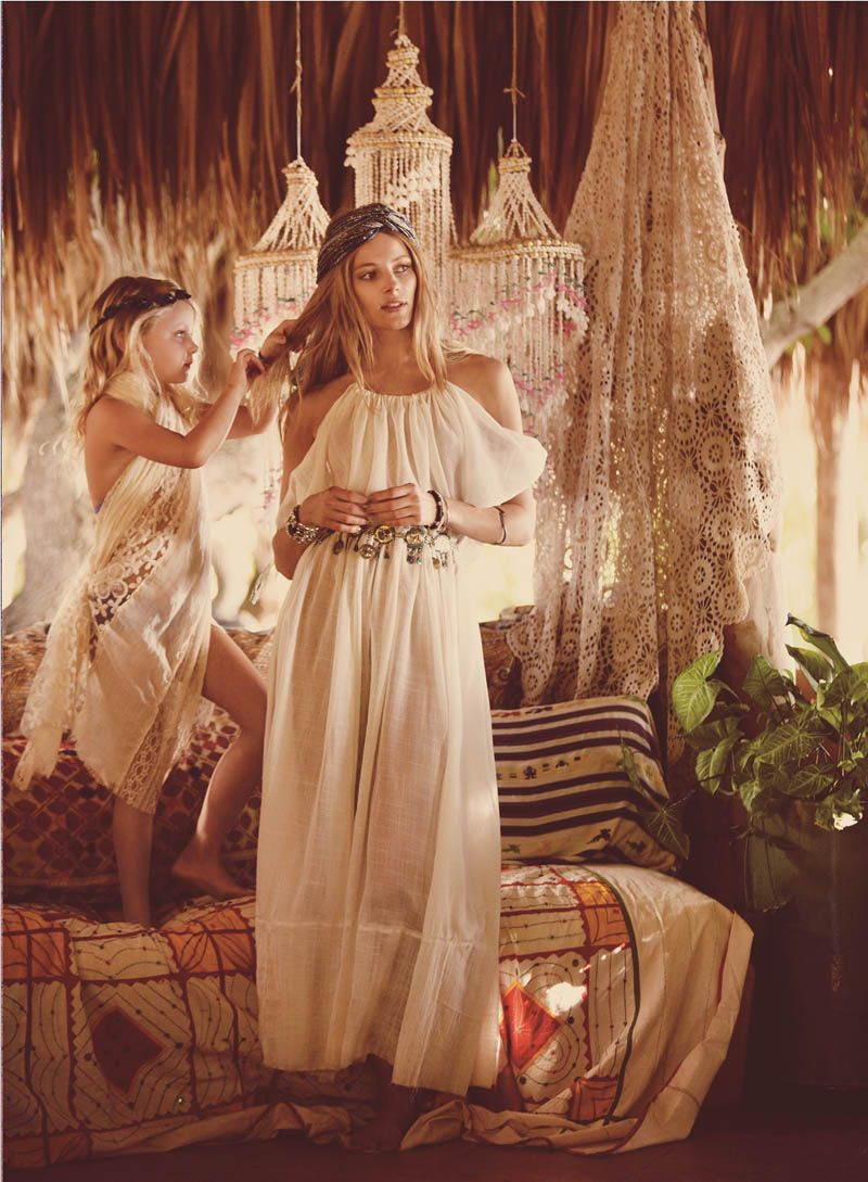 Free wedding dress catalogs  Crystal Renn and Ieva Laguna Star in Free Peopleus April Catalogue