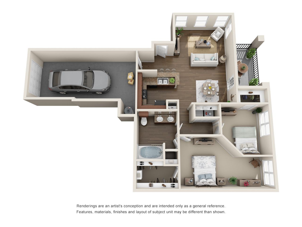 One Two Three Four Bedroom Apartments In Rockwall Tx Steadfast Apartment Renting Rental Texas Ro Sims House Design Floor Plan Design Floor Plans