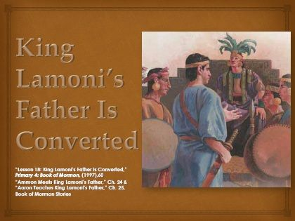 King Lamonis Father Is Converted By Ericka Covalt