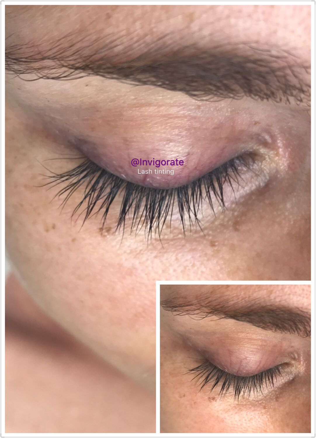 Just A Lash Tinting To Make These Beautiful Lashes Look Even Better